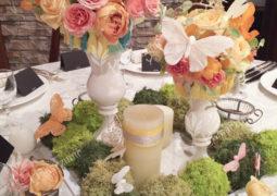 婚礼会場テーブル装飾